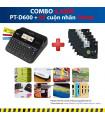 Combo: PT-D600 + 5 Cuộn nhãn 18mm | Máy in nhãn Brother | khuetu.vn