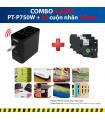 Combo: PT-P750W + 3 Cuộn nhãn 24mm | Máy in nhãn Brother | khuetu.vn