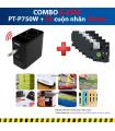 Combo: PT-P750W + 5 Cuộn nhãn 24mm | Máy in nhãn Brother | khuetu.vn