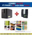 Combo: PT-P900W + 5 Cuộn nhãn 24mm (siêu dính) | Máy in nhãn Brother | khuetu.vn