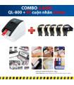 Combo: QL-800 + 5 Cuộn nhãn 62mm | Máy in nhãn Brother | khuetu.vn