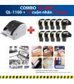Combo: QL-1100 + 10 Cuộn nhãn 102mm | Máy in nhãn Brother | khuetu.vn