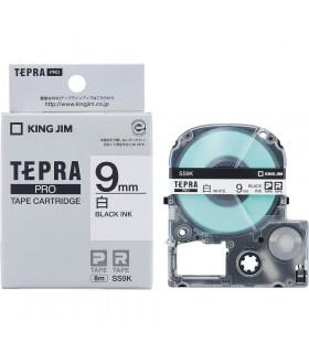 Tepra SS9K (Chữ đen nền trắng, khổ 9mm)