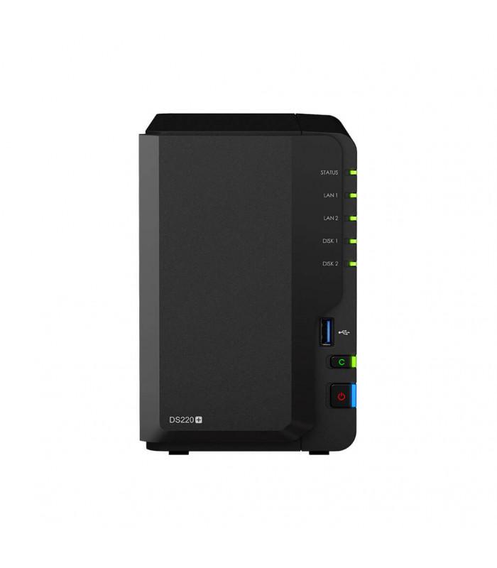 Thiết bị lưu trữ NAS Synology 2 bay NAS DS220+ | Synology | khuetu.vn