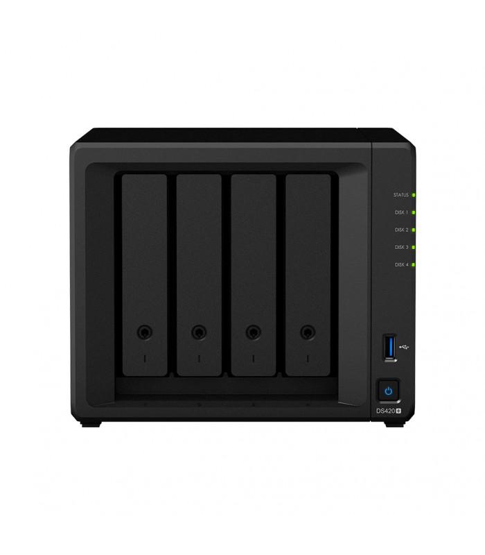 Thiết bị lưu trữ NAS Synology 4 bay NAS DS420+ | Synology | khuetu.vn
