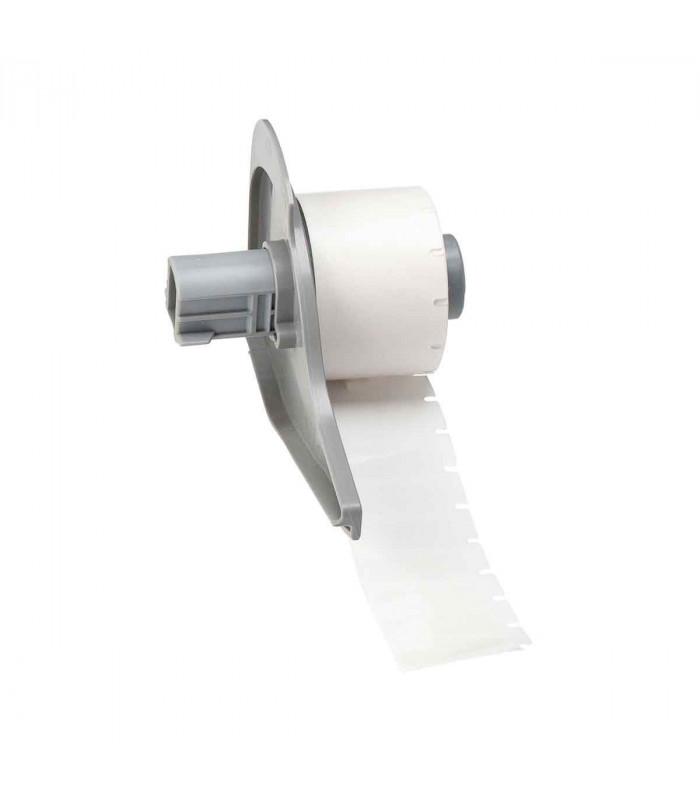 Brady M71-16-498, Vinyl Cloth, màu trắng, 25.4 x 9.5mm x 500 nhãn
