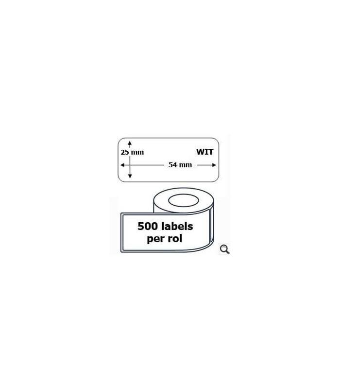 Băng nhãn in DM-A11352, Black on White, 25mm x 54mm x 500 labels | Nhãn giấy máy LabelWriter | khuetu.vn