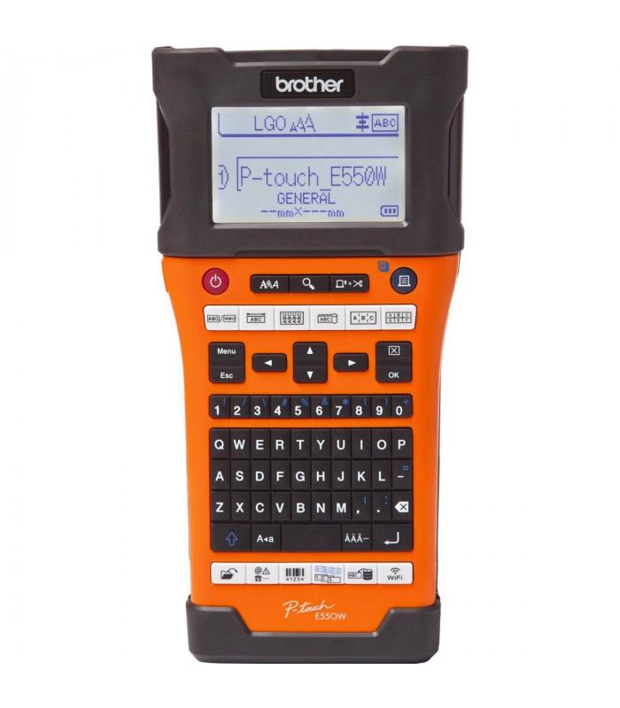 Máy in nhãn Brother PT-E550W (E550WVP) | Dòng máy Ptouch | Brother | khuetu.vn