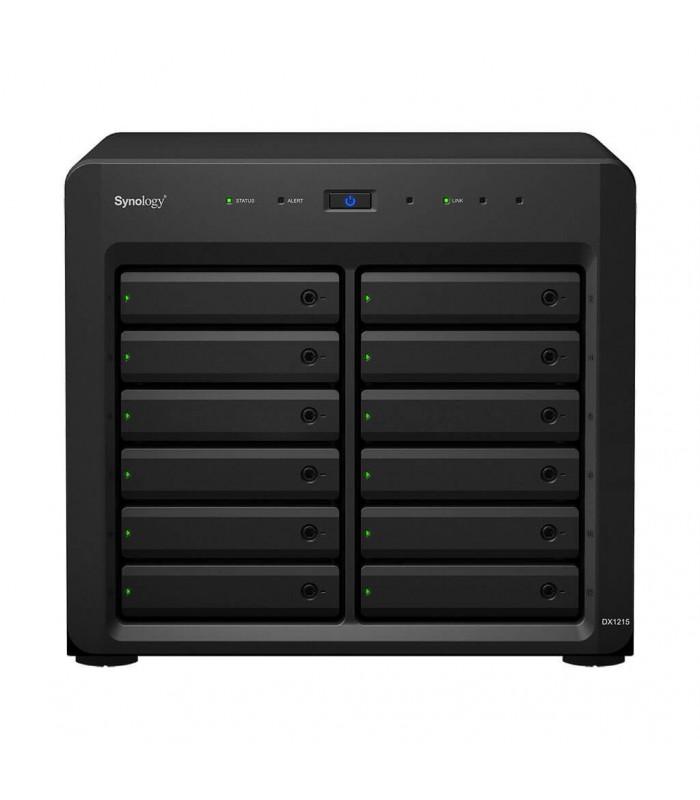 Thiết bị lưu trữ NAS Synology Expansion Unit DX1215 | Synology | khuetu.vn