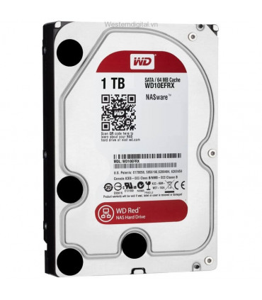 WD RED 1TB 3.5 Inch SATA HDD 5400rpm 64MB Cache (WD10EFRX)