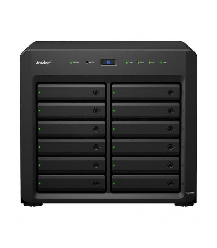 Thiết bị lưu trữ NAS Synology DiskStation DS2415+ | Synology | khuetu.vn