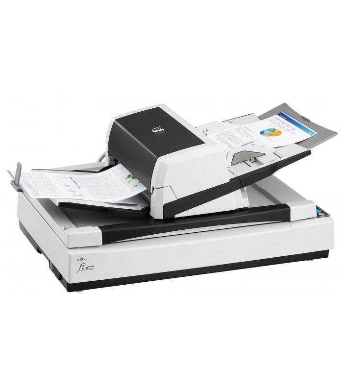 Máy scan, scanner Fujitsu fi-6770 (90ppm, 15000ppd, A3, USB, Flatbed) | fi series | Fujitsu | khuetu.vn