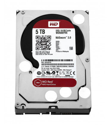 WD RED 5TB 3.5 Inch SATA HDD 5400rpm 64MB Cache (WD50EFRX)