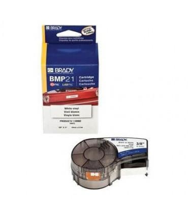 "BMP21 Printer Label, Permanent Polyester, 0.750"" W x 21' H (19.050 mm W x 6.400 m H)"