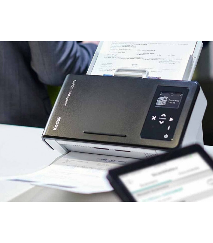 Máy scan, scanner Kodak SCANMATE i1150WN (30ppm, 3000ppd, A4, Wifi, RJ45) | Workgroup | Kodak | khuetu.vn