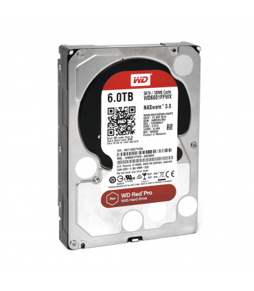 WD RED PRO 6TB 3.5 Inch SATA HDD 7200rpm 128MB Cache (WD6002FFWX)
