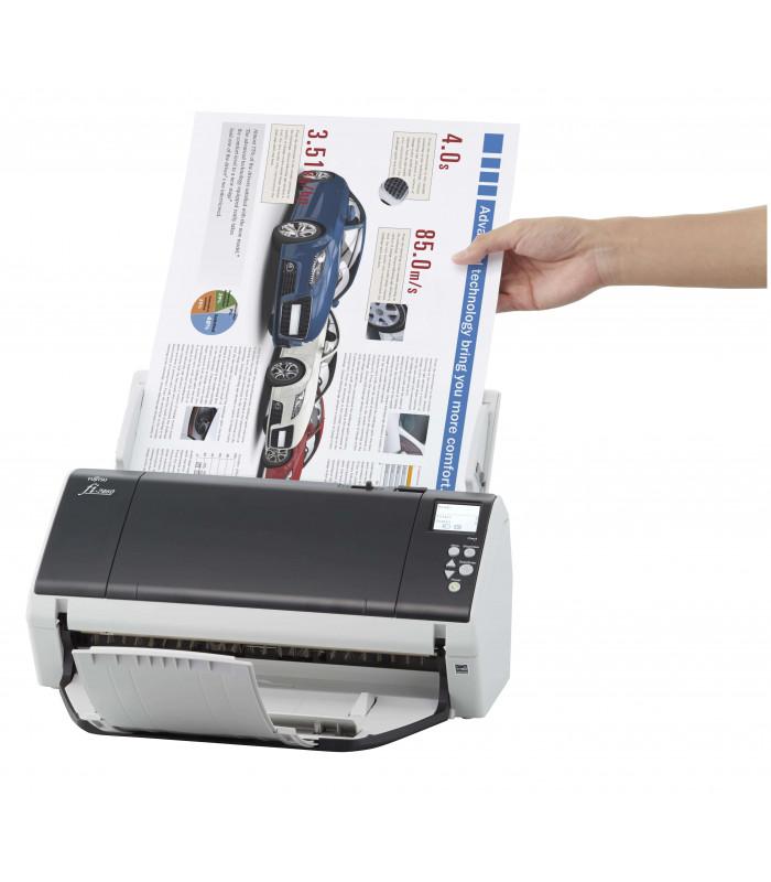 Máy scan, scanner Fujitsu fi-7460 (60ppm, 18000ppd, A3, USB) | fi series | Fujitsu | khuetu.vn