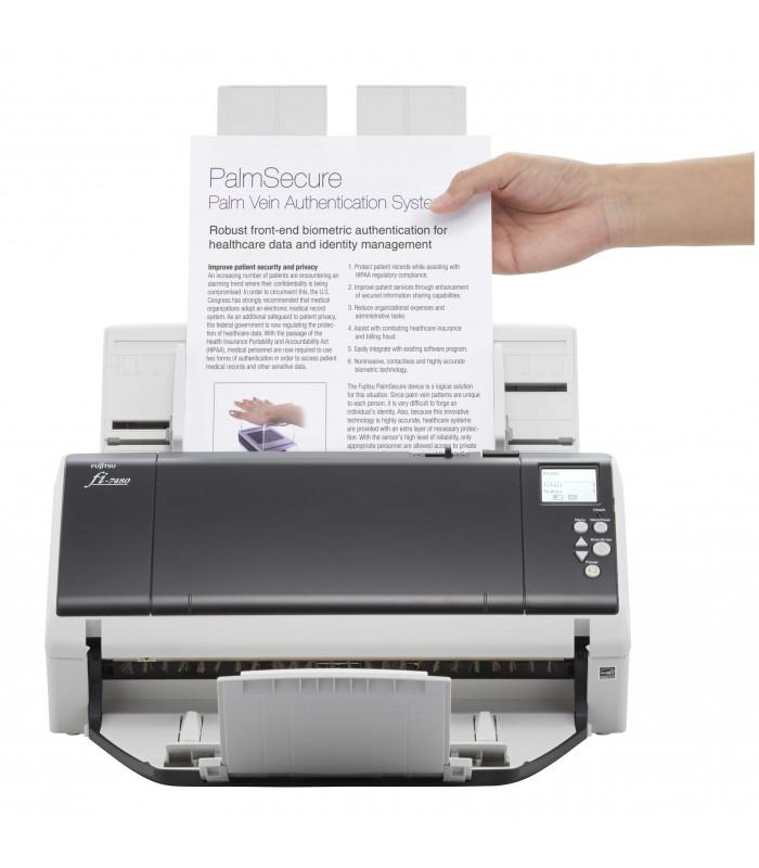 Máy scan, scanner Fujitsu fi-7480 (80ppm, 24000ppd, A3, USB) | fi series | Fujitsu | khuetu.vn