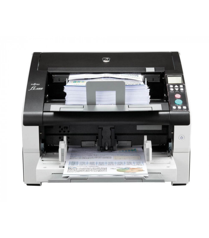 Máy scan, scanner Fujitsu fi-6800 (130ppm, 110000ppd, A3, USB, ISCSI) | fi series | Fujitsu | khuetu.vn