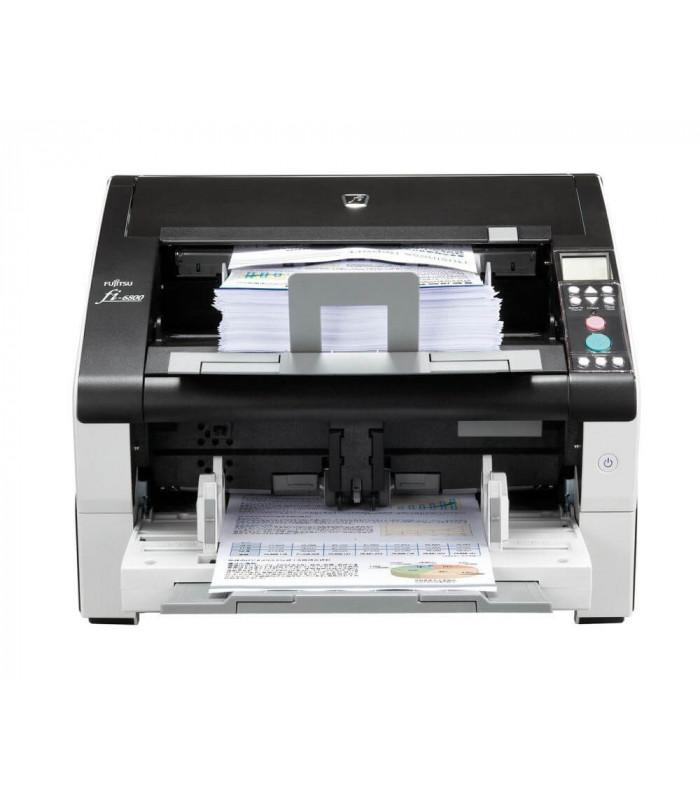Máy scan, scanner Fujitsu fi-6800 (130ppm, 60,000ppd, A3, USB, ISCSI) | fi series | Fujitsu | khuetu.vn