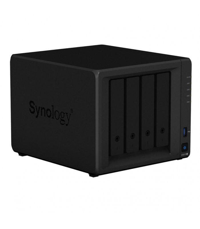 Thiết bị lưu trữ NAS Synology DiskStation DS918+ | Synology | khuetu.vn