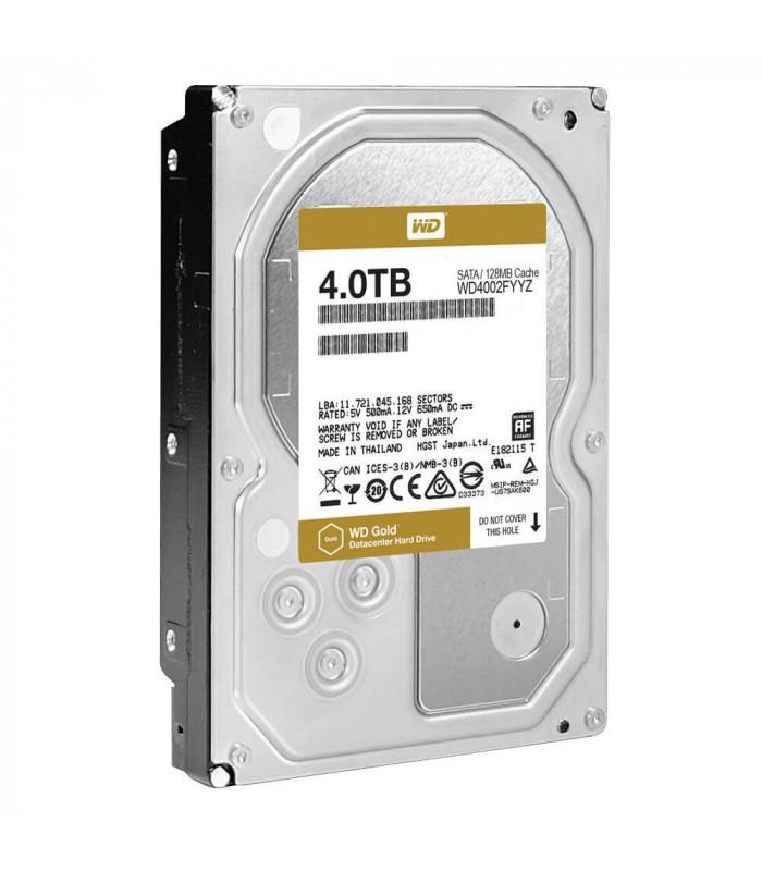 Ổ cứng chuyên dụng WD RED GOLD ENTERPRISE 4TB 3.5 Inch SATA HDD 7200rpm 128MB Cache (WD4002FYYZ) | WD GOLD ENTERPRISE | WES...