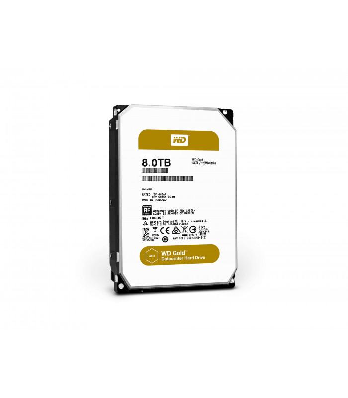 Ổ cứng chuyên dụng WD RED GOLD ENTERPRISE 8TB 3.5 Inch SATA HDD 7200rpm 128MB Cache (WD8002FRYZ) | WD GOLD ENTERPRISE | WES...