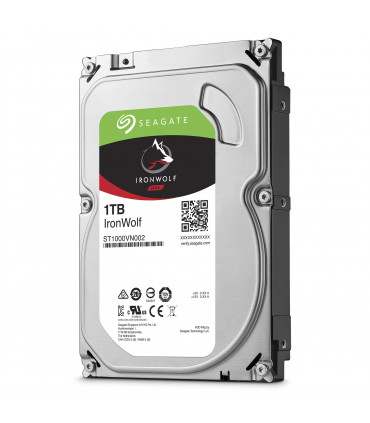 SEAGATE IRONWOLF 1TB 3.5 Inch SATA HDD 5900rpm 64MB Cache (ST1000VN002)
