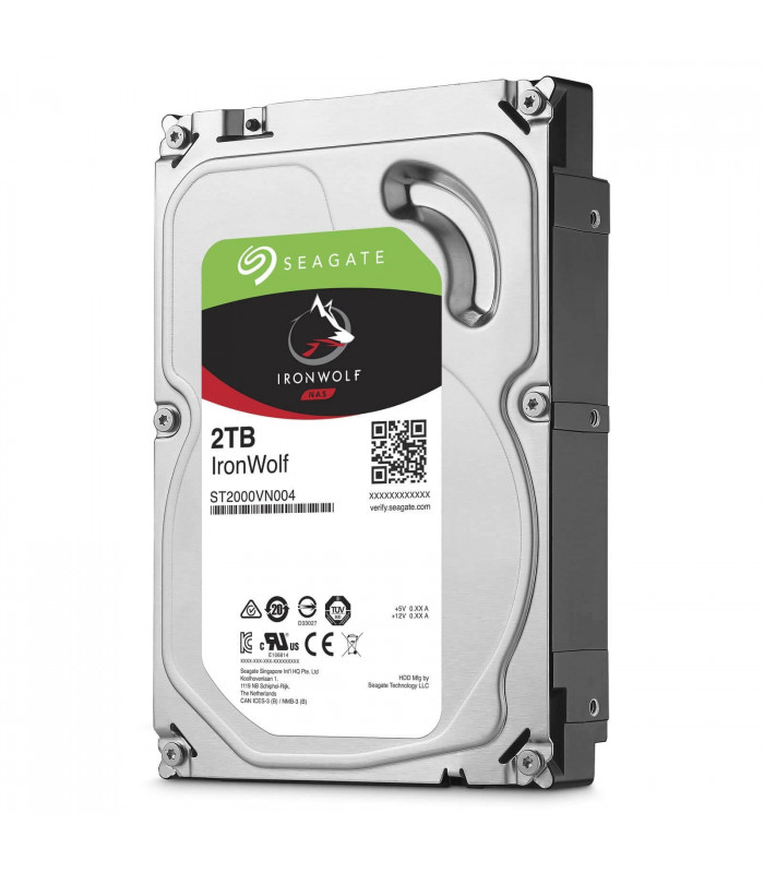 Ổ cứng chuyên dụng SEAGATE IRONWOLF 2TB 3.5 Inch SATA HDD 5900rpm 64MB Cache (ST2000VN004) | SEAGATE IRONWOLF | SEAGATE | ...