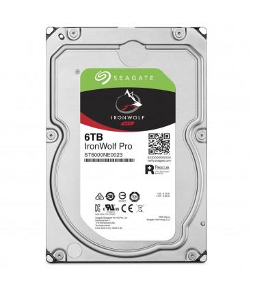 SEAGATE IRONWOLF PRO 6TB 3.5 Inch SATA HDD 7200rpm 256MB Cache (ST6000NE0023)