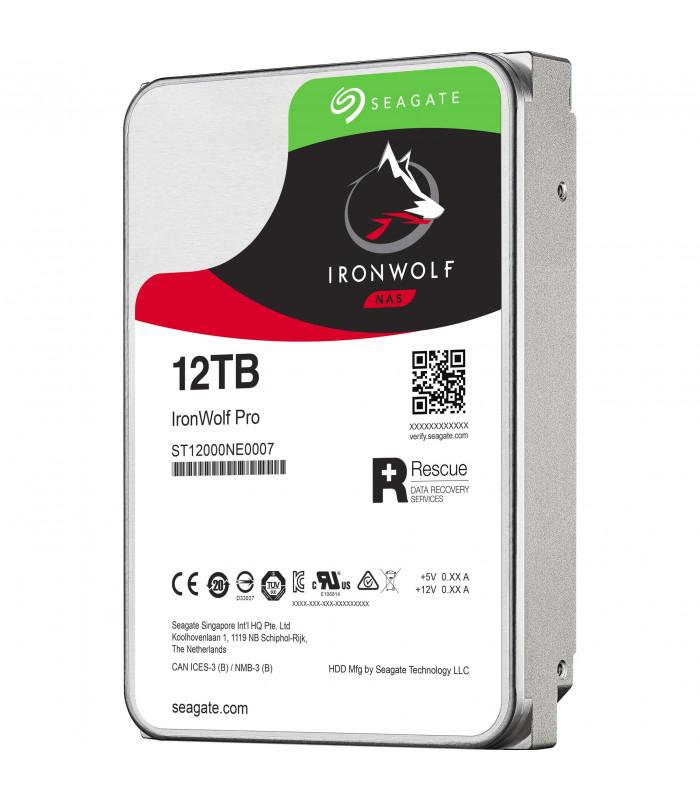 Ổ cứng chuyên dụng SEAGATE IRONWOLF PRO 12TB 3.5 Inch SATA HDD 7200rpm 256MB Cache (ST12000NE0007) | HDD cho NAS | SEAGATE ...