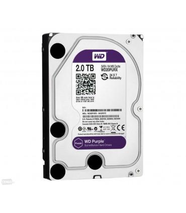 WD PURPLE 2TB 3.5 Inch SATA HDD 5400rpm 64MB Cache (WD20PURZ)
