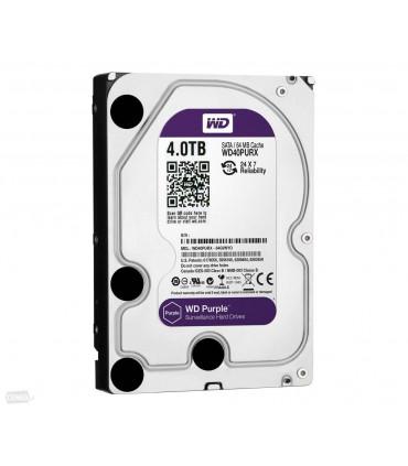 WD PURPLE 4TB 3.5 Inch SATA HDD 5400rpm 64MB Cache (WD40PURZ)