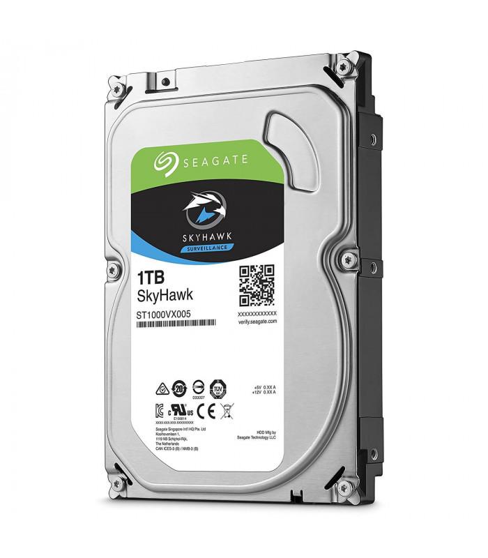 Ổ cứng chuyên dụng SEAGATE SKYHAWK 1TB 3.5 Inch SATA HDD 64MB Cache (ST1000VX005) | SEAGATE SKYHAWK | SEAGATE | khuetu.vn
