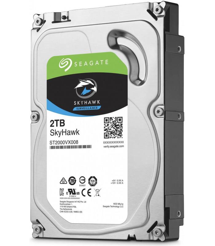 Ổ cứng chuyên dụng SEAGATE SKYHAWK 2TB 3.5 Inch SATA HDD 64MB Cache (ST2000VX008) | SEAGATE SKYHAWK | SEAGATE | khuetu.vn