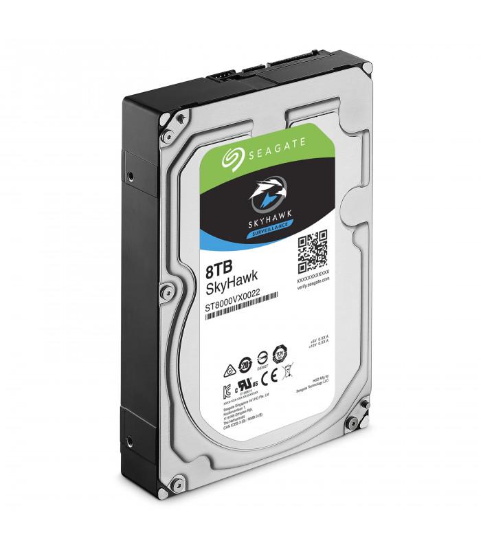 Ổ cứng chuyên dụng SEAGATE SKYHAWK 8TB 3.5 Inch SATA HDD 256MB Cache (ST8000VX0022) | SEAGATE SKYHAWK | SEAGATE | khuetu.vn