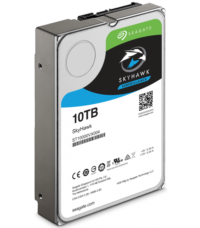 Ổ cứng chuyên dụng SEAGATE SKYHAWK 10TB 3.5 Inch SATA HDD 256MB Cache (ST10000VX0004) | SEAGATE SKYHAWK | SEAGATE | khuetu.vn