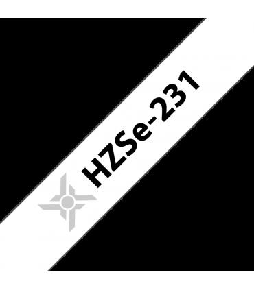 Ống co nhiệt HZSe-231, khổ 12mm x 1,5m, cáp 3.6-7.0mm, màu trắng