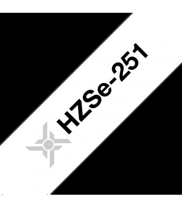 Ống co nhiệt HZSe-251, khổ 24mm x 1,5m, cáp 7.3-14.3mm, màu trắng