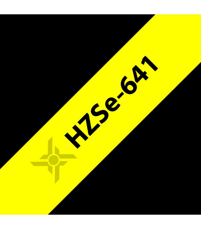 Băng nhãn in Ống co nhiệt HZSe-641 | Ống co nhiệt HZSe cho máy Brother | khuetu.vn