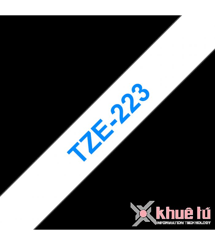 Băng nhãn in TZe-223 | Nhãn Cho Máy Brother | khuetu.vn