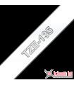 Băng nhãn in Brother TZe-135, khổ 12mm, dài 8m, White on Clear, chống thấm nước | Nhãn TZe tiêu chuẩn | khuetu.vn
