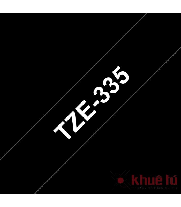 Băng nhãn in TZe-335 | Nhãn Cho Máy Brother | khuetu.vn