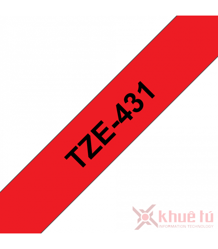 Băng nhãn in TZe-431 | Nhãn Cho Máy Brother | khuetu.vn