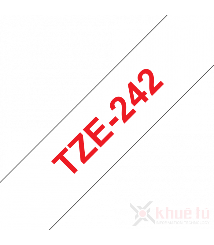 Băng nhãn in TZe-242 | Nhãn Cho Máy Brother | khuetu.vn