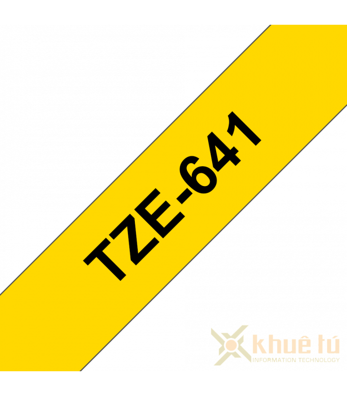 Băng nhãn in TZe-641   Nhãn Cho Máy Brother   khuetu.vn