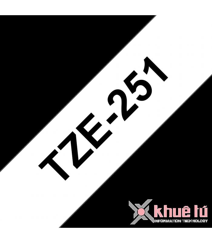 Băng nhãn in TZe-251 | Nhãn Cho Máy Brother | khuetu.vn