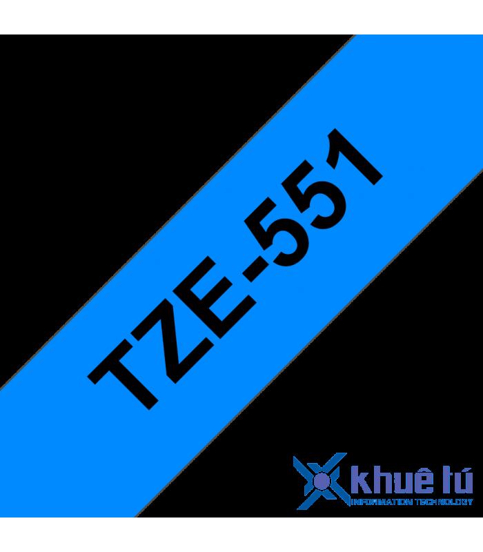 Băng nhãn in TZe-551 | Nhãn Cho Máy Brother | khuetu.vn