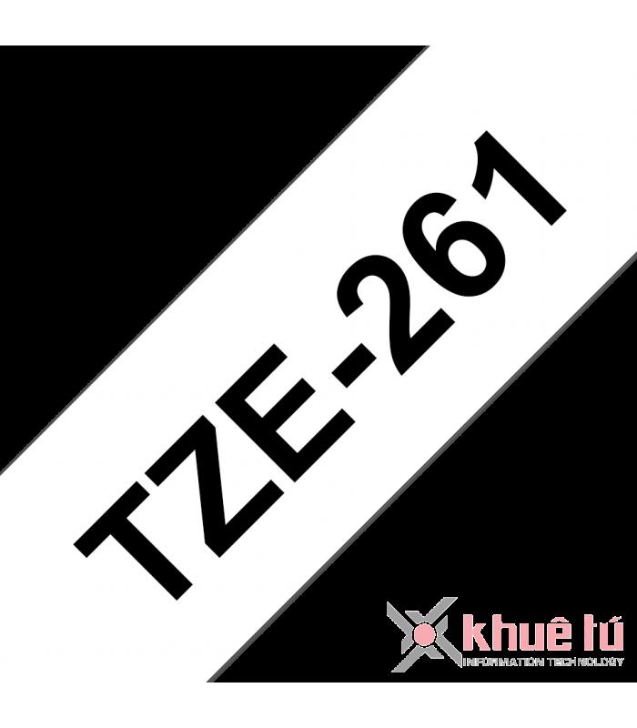 Băng nhãn in TZe-261 | Nhãn Cho Máy Brother | khuetu.vn