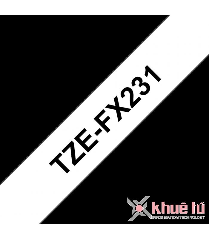 Băng nhãn in TZe-FX231 | Nhãn Cho Máy Brother | khuetu.vn